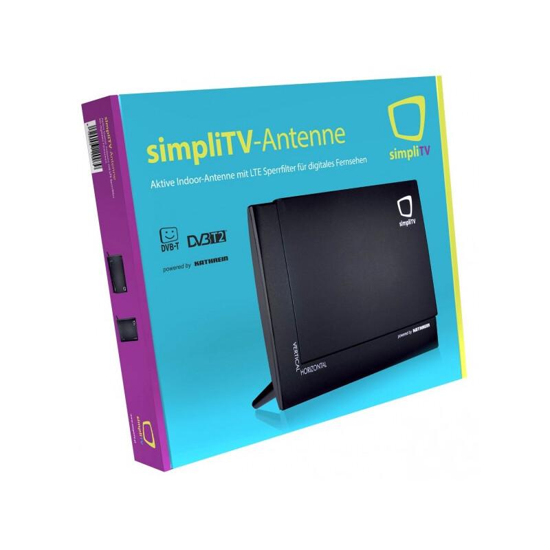 SimpliTV DVB-T2 Antenne innen / aktiv