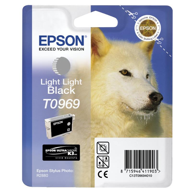 Epson T0969 Tinte Photo Light Black 11,4ml