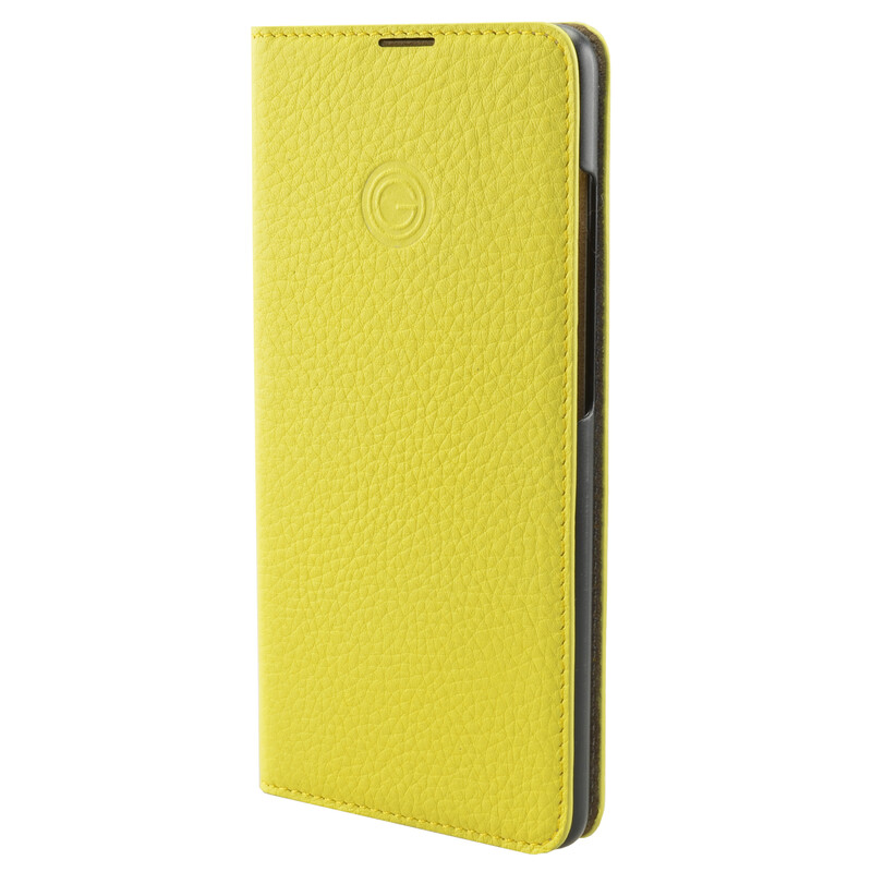 Galeli Booktasche MARC Samsung Galaxy A41 light lemon