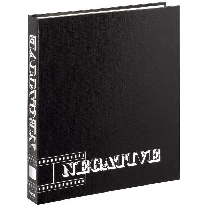 Hama 9003 Negativ-Ordner, 29x32,5 cm, Schwarz