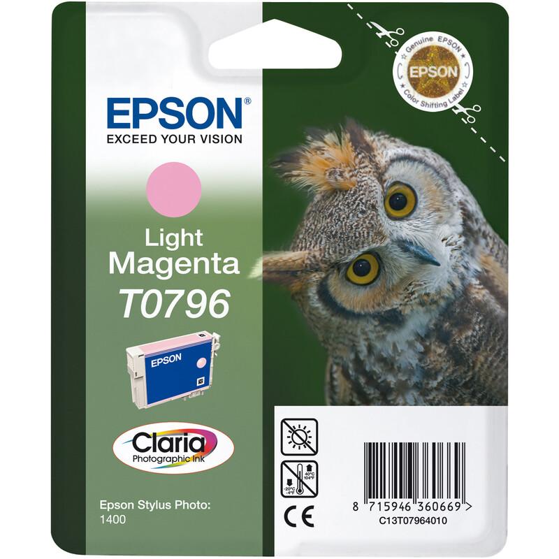 Epson T0796 Tinte Photo Light Magenta 11ml