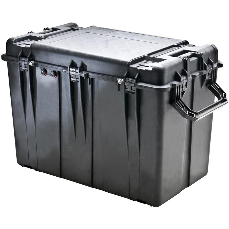 PELI 0500 Case mit Schaumstoff