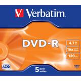 Verbatim DVD-R 4,7GB 16x JC 5er