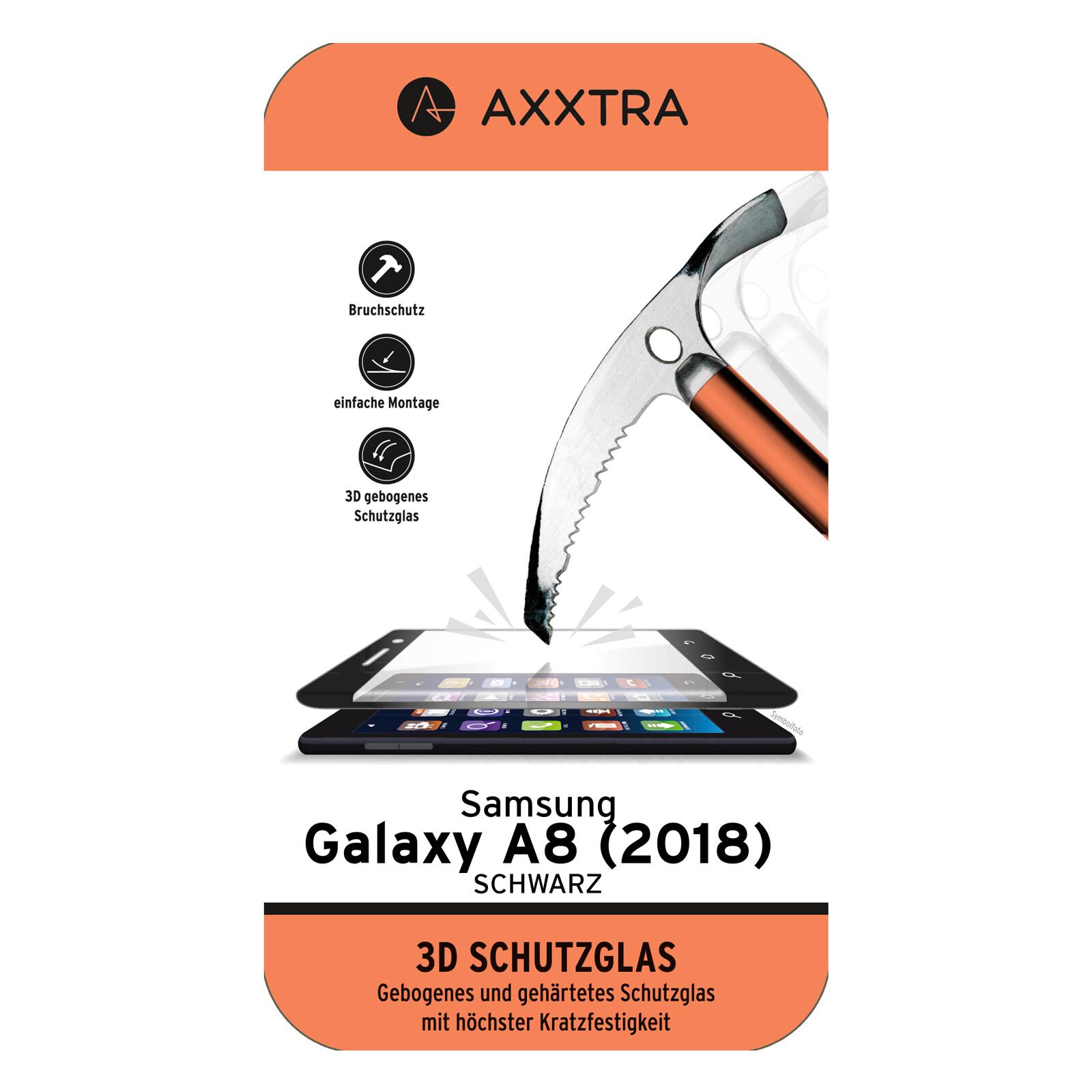 Axxtra Displayschutzglas Diamant Samsung Galaxy A8