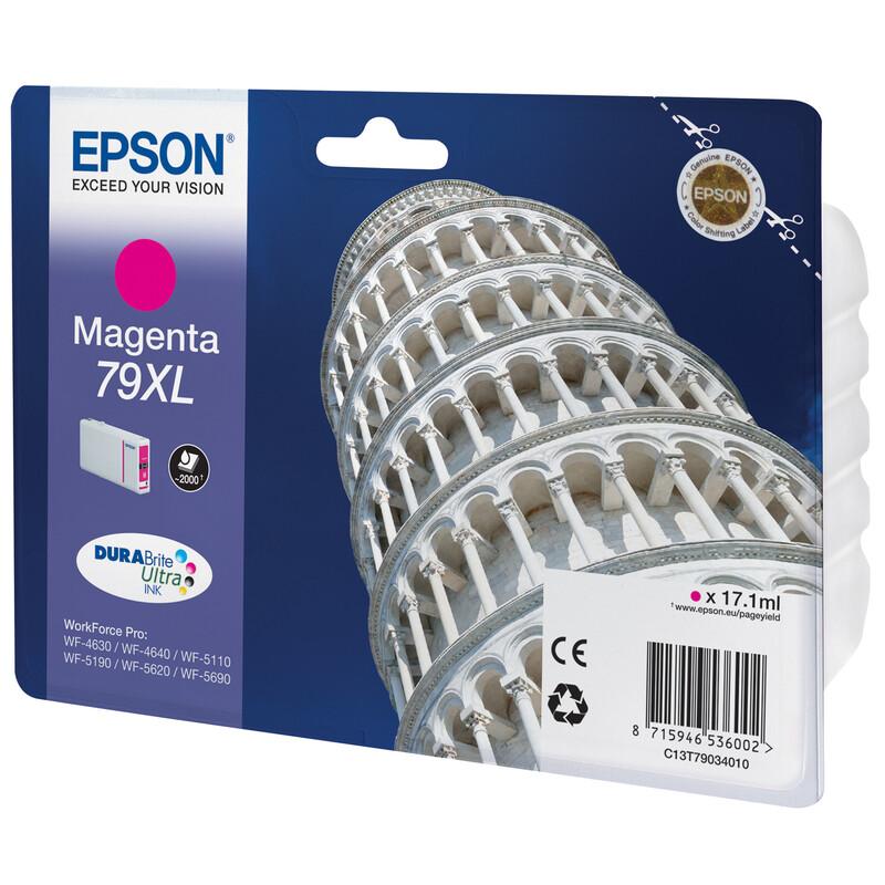 Epson 79XL T7903 Tinte Magenta 17,1ml