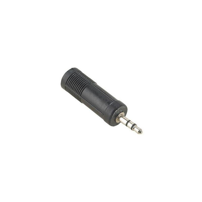 Hama 43375 Audio-Adapter 3,5-mm-Klinken-St. Stereo - 6,3-mm-