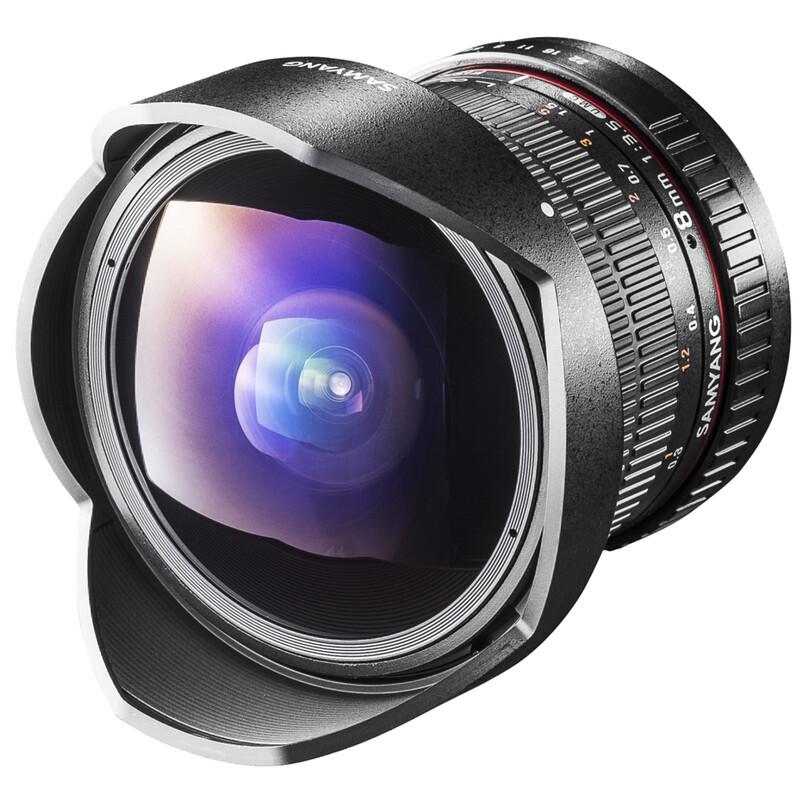 Samyang MF 8/3,5 Fisheye II APS-C Sony E
