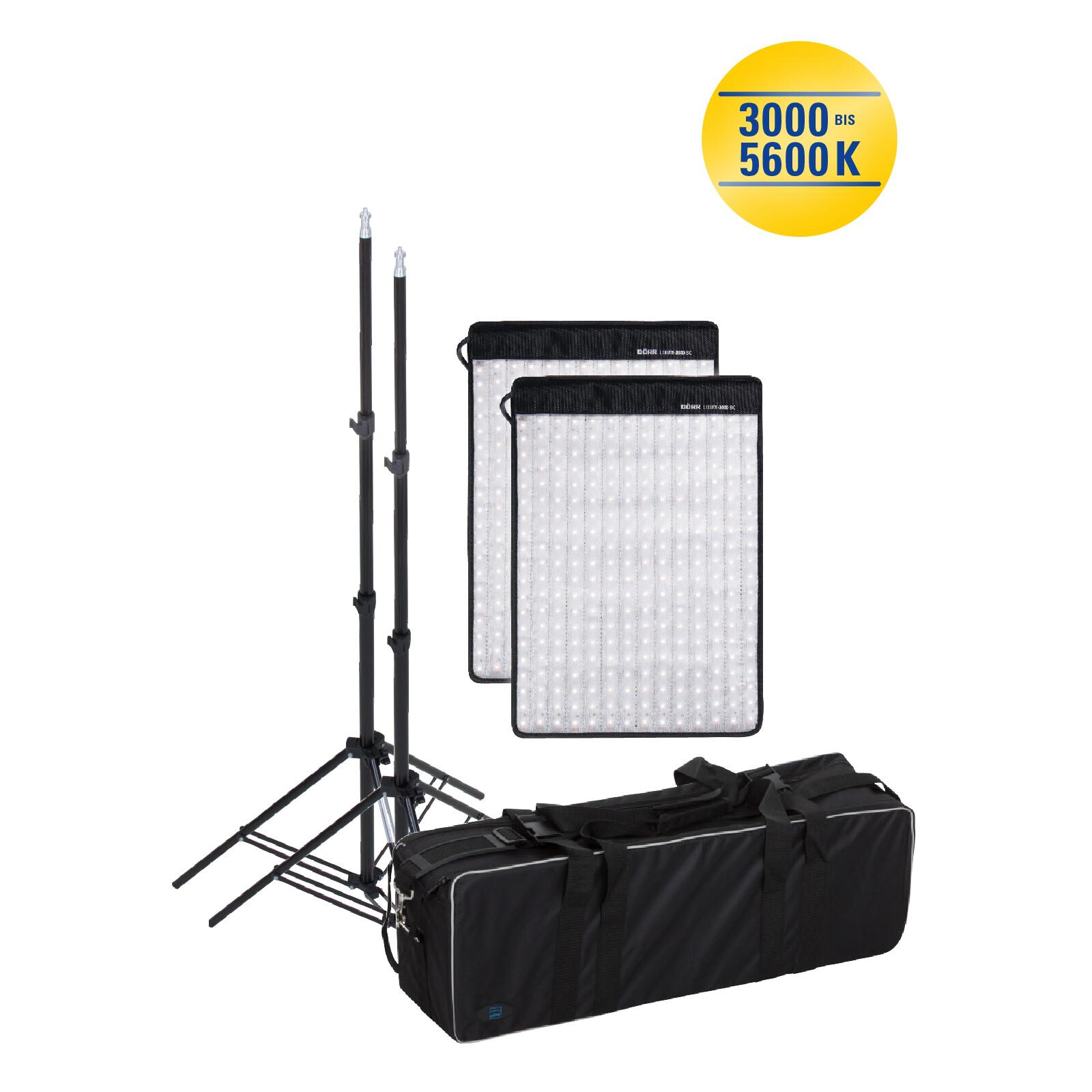 Dörr FX-3040 BC Set LED Flex Panel 2er-Set inkl. Leuchtensta