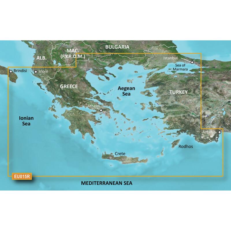 Garmin Aegean Sea & Sea of Marmara