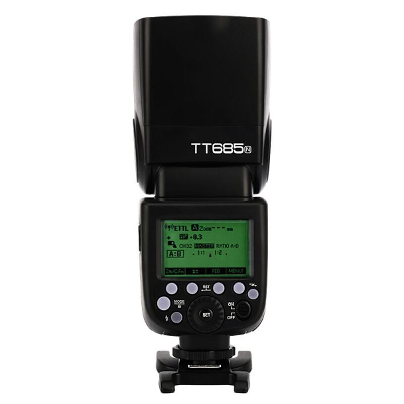 GODOX TT685N Blitz Nikon + Godox Softbox Univ.