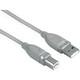 Hama 45024 USB-2.0-Kabel, geschirmt, Grau, 7,50 m