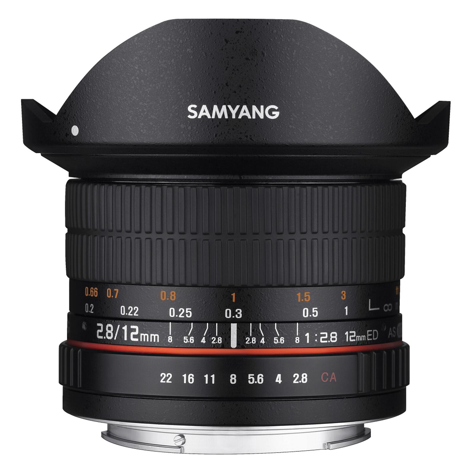 Samyang MF 12/2,8 Fisheye Sony E