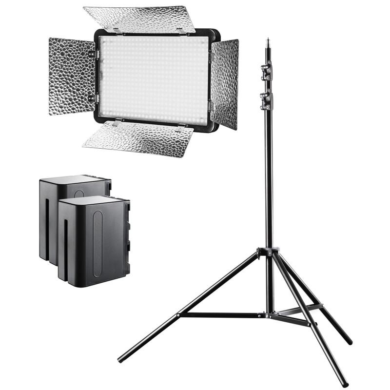 walimex pro LED 500 Versalight Bi Color Set1 Akku