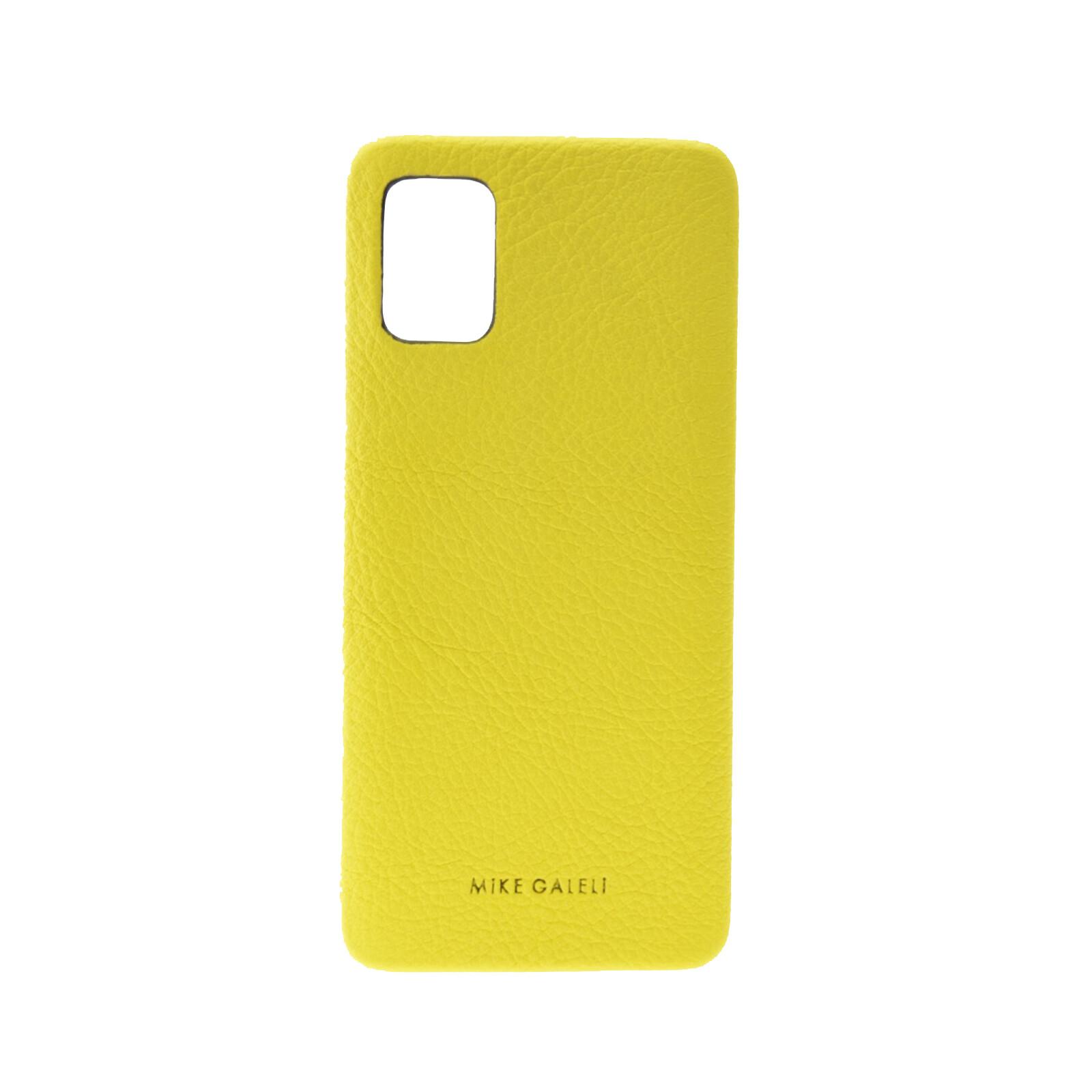Galeli Backcover FINN Samsung Galaxy A71 light lemon