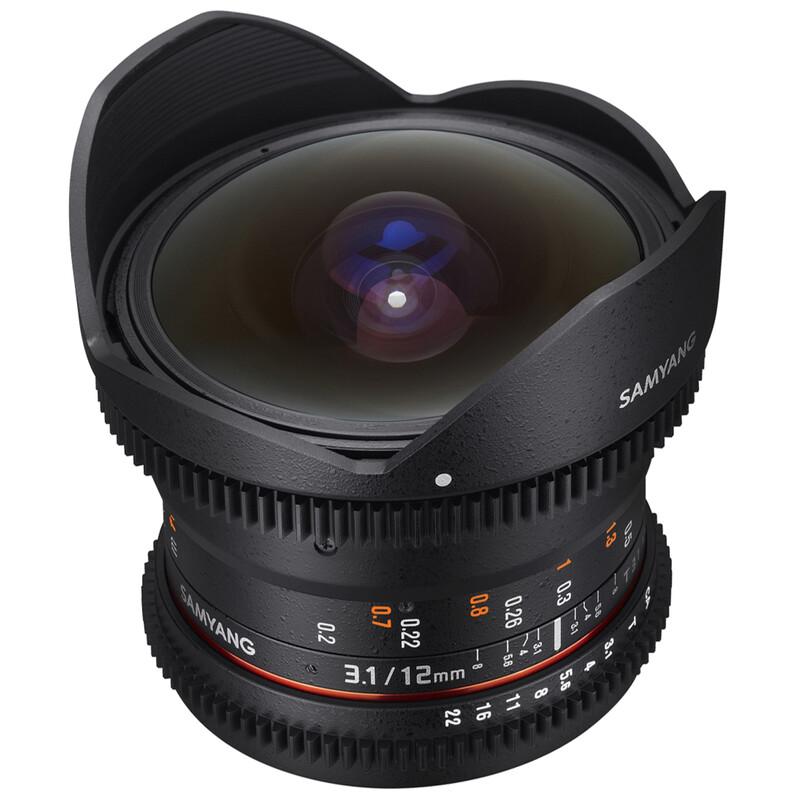 Samyang MF 12/3,1 Fisheye Video DSLR Sony E