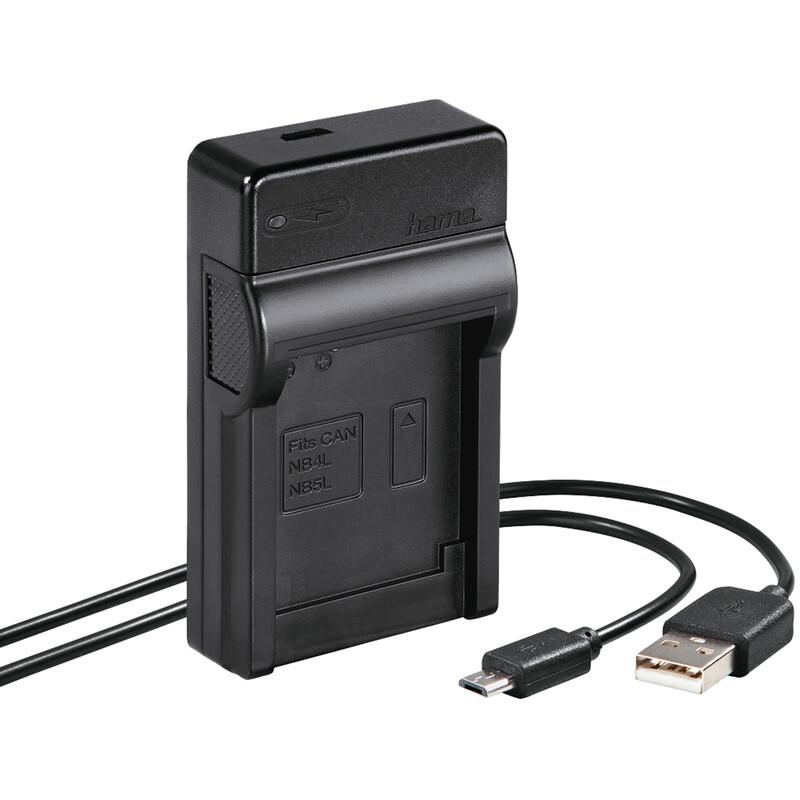 Hama 81374 USB-Ladegerät Travel Canon NB-4L/5L