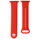 Mika Uhrenarmband Apple 42/44mm Silikon rot