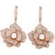 Blumenförmige Ohrhänger