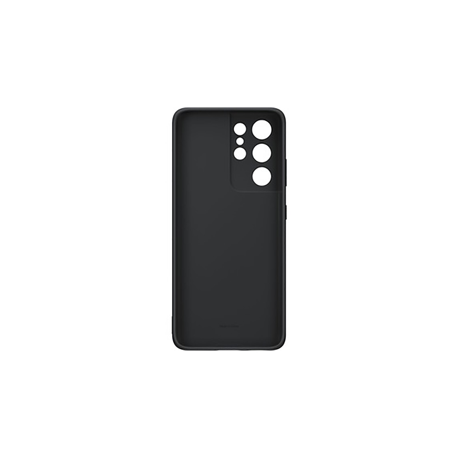Samsung Back Cover Silicone Galaxy S21 Ultra black