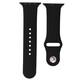 Mika Uhrenarmband Apple 42/44mm Silikon schwarz