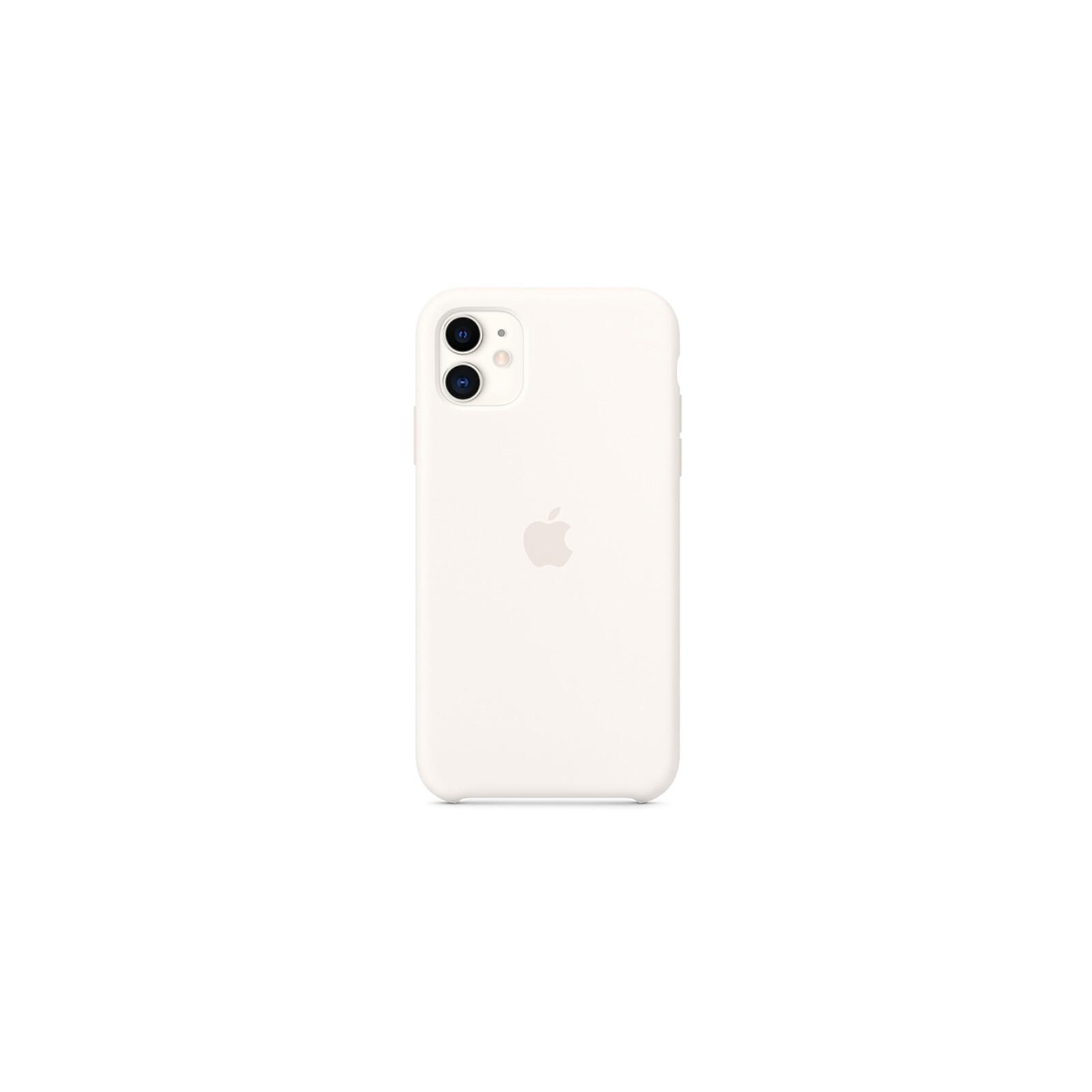 Apple Backcover Silikon iPhone 11 weiß
