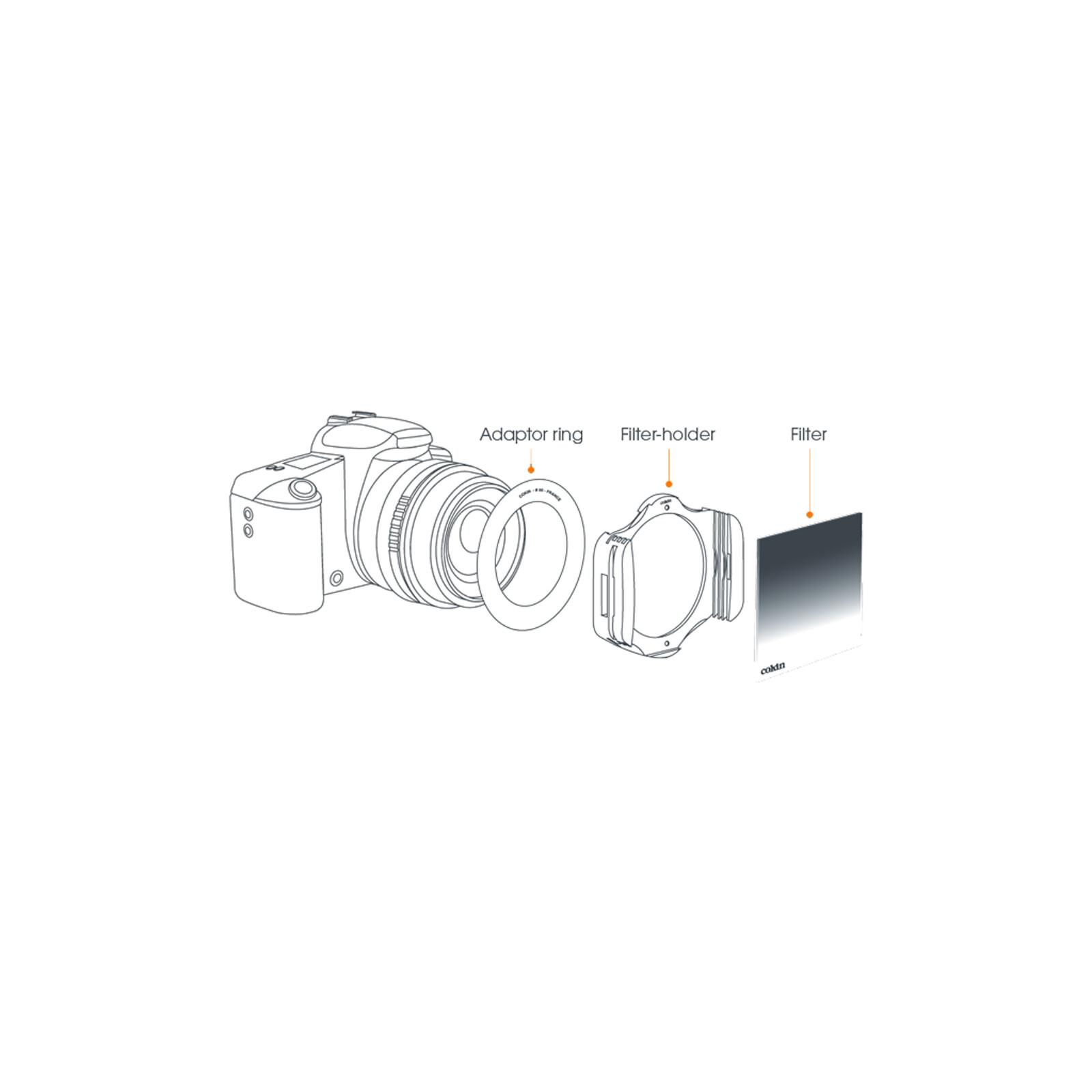 Cokin P458 P-Adapter 58mm