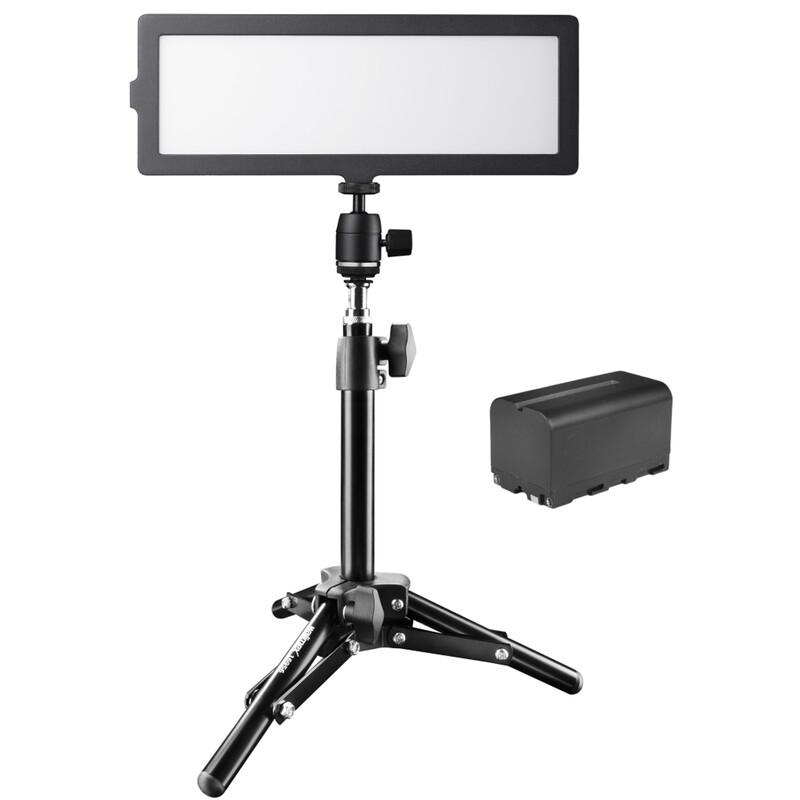 walimex pro Soft LED 200 Flat Bi Color Set2