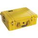 PELI 1600 Case mit Schaumstoff yellow