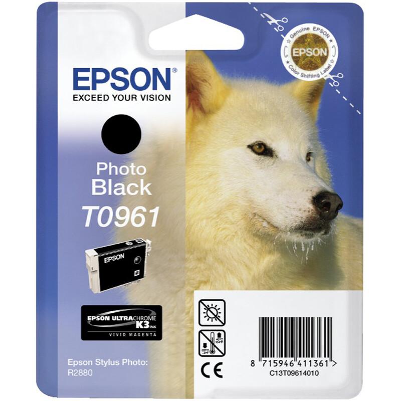 Epson T0961 Tinte Photo Black 11,4ml