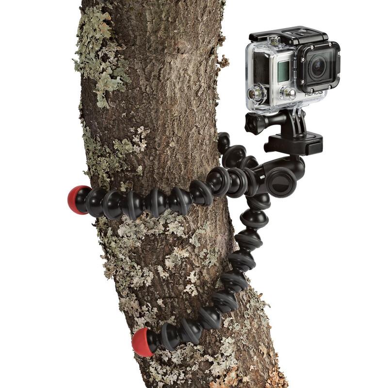 Joby GorillaPod Action Tripod with Mount f. GoPro