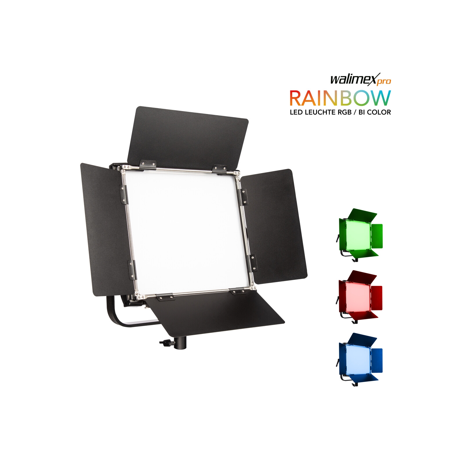 Walimex pro LED Rainbow 50W RGBWW Flächenleuchte