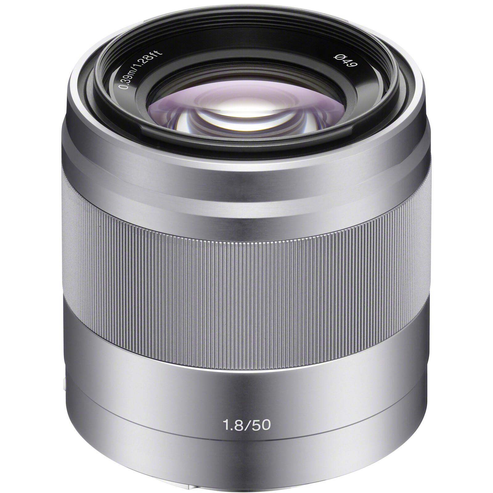 Sony SEL 50/1,8 OSS Silber