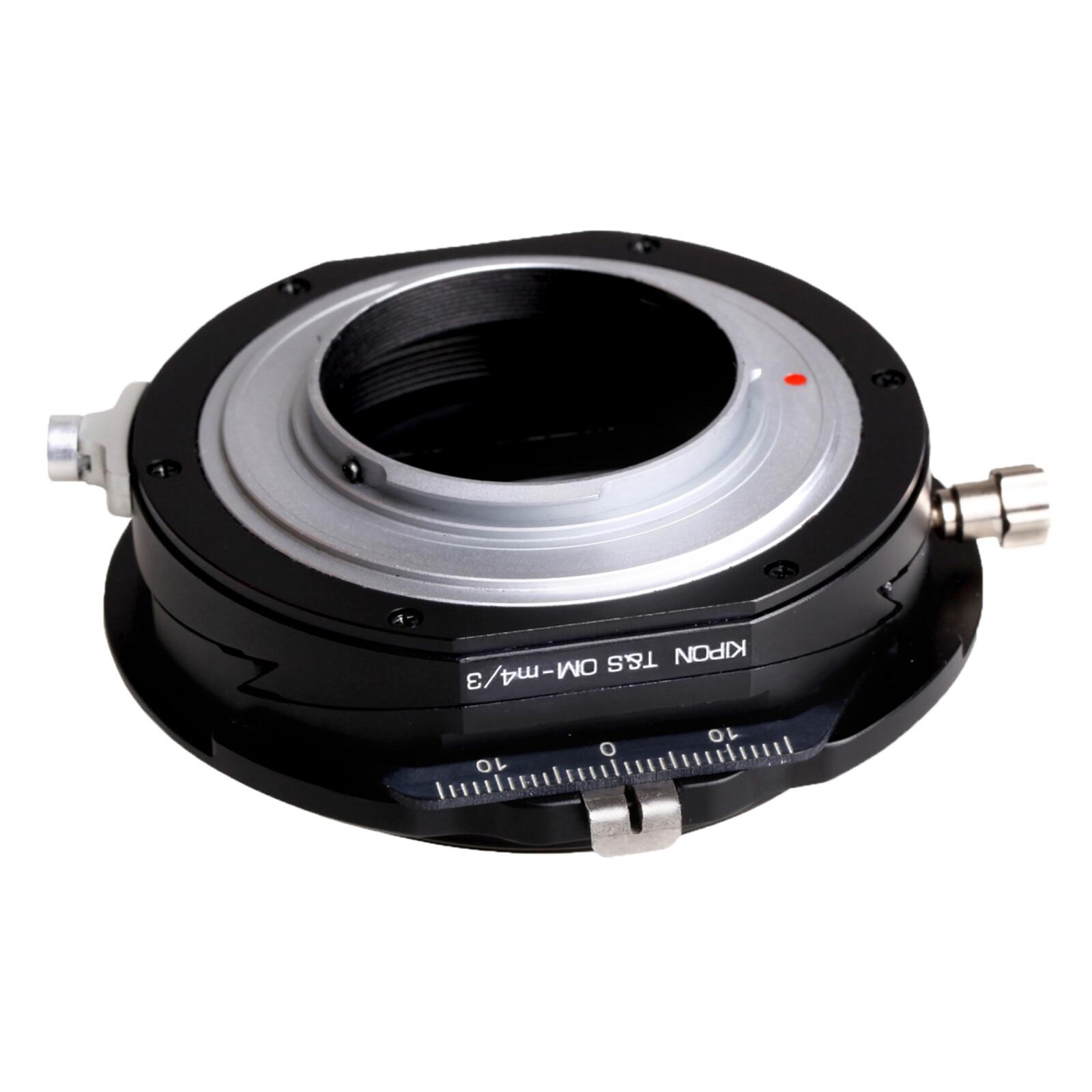 Kipon T-S Adapter für Olympus OM auf MFT