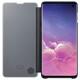 Samsung Book Tasche C-View Galaxy S10 schwarz
