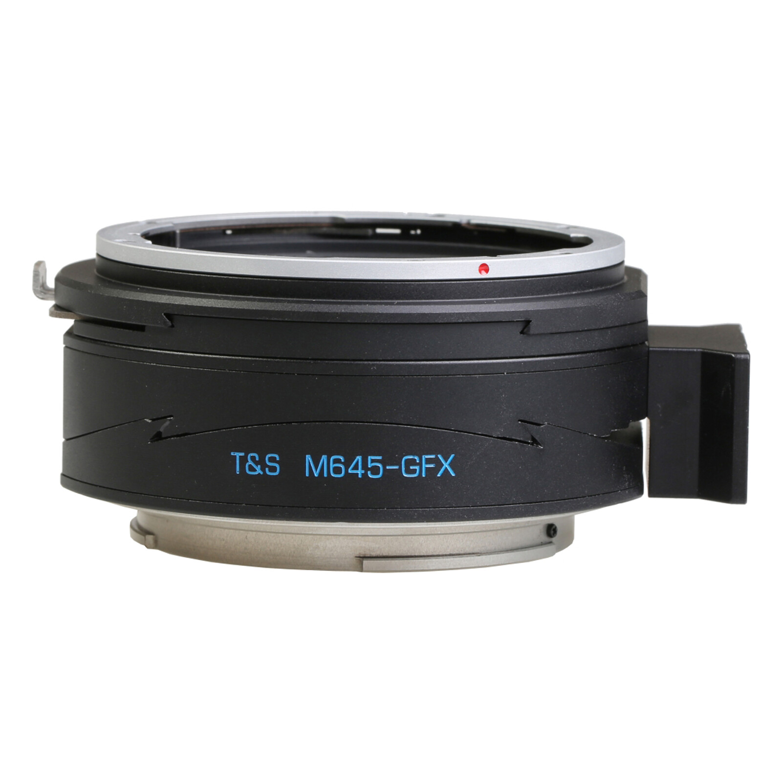 Kipon Pro T-S Adapter für Mamiya 645 auf Fuji GFX