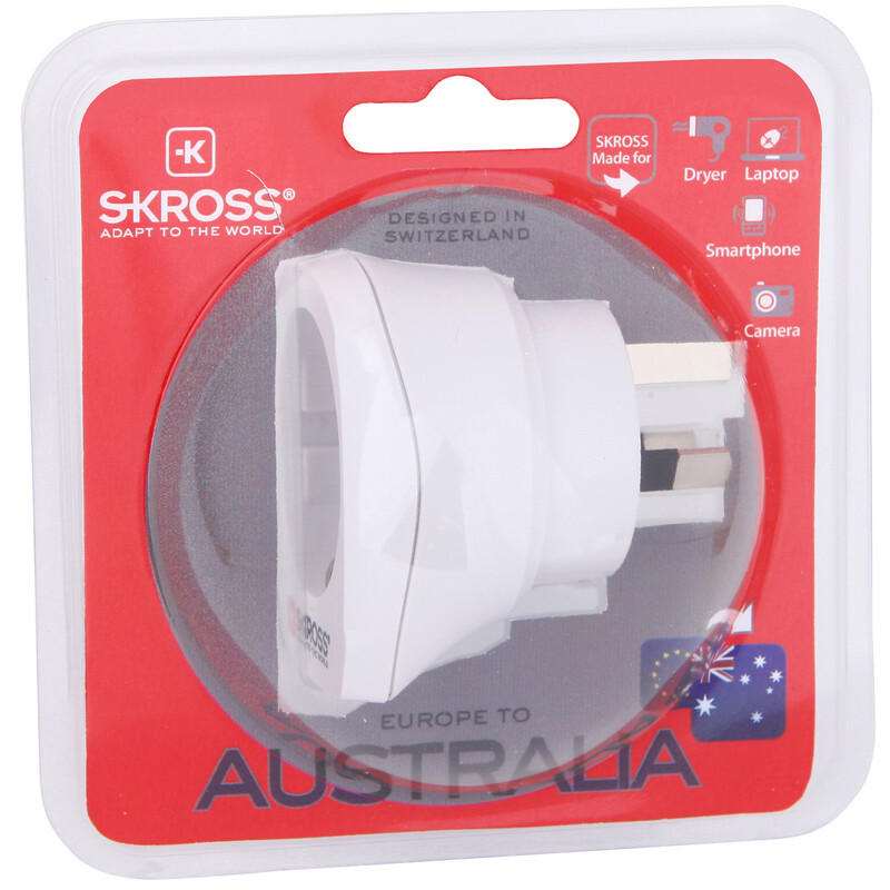Skross Europe to Australia/China Reiseadapter