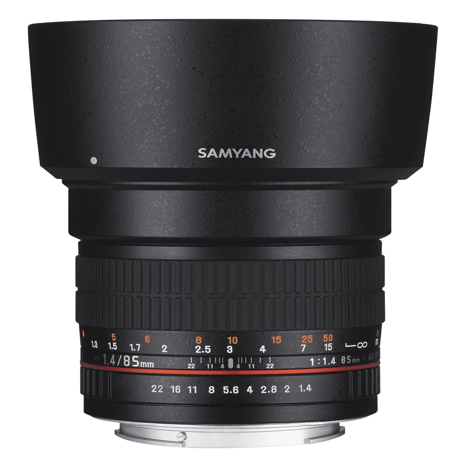Samyang MF 85/1,4 AS IF UMC Canon EF AE