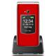 Beafon SL595 red silver