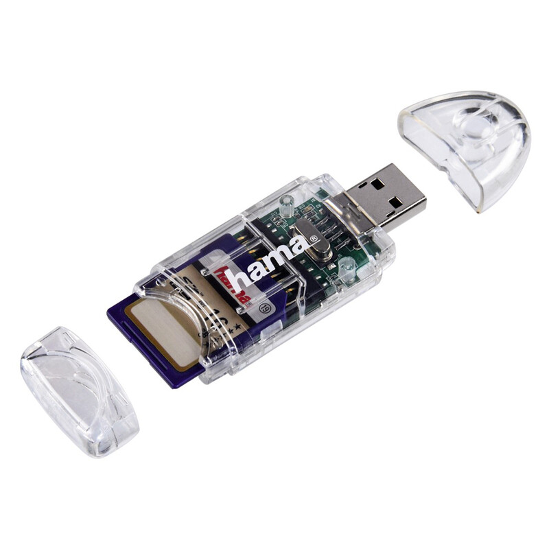 Hama USB-2.0 Kartenleser 8in1 SD/microSD