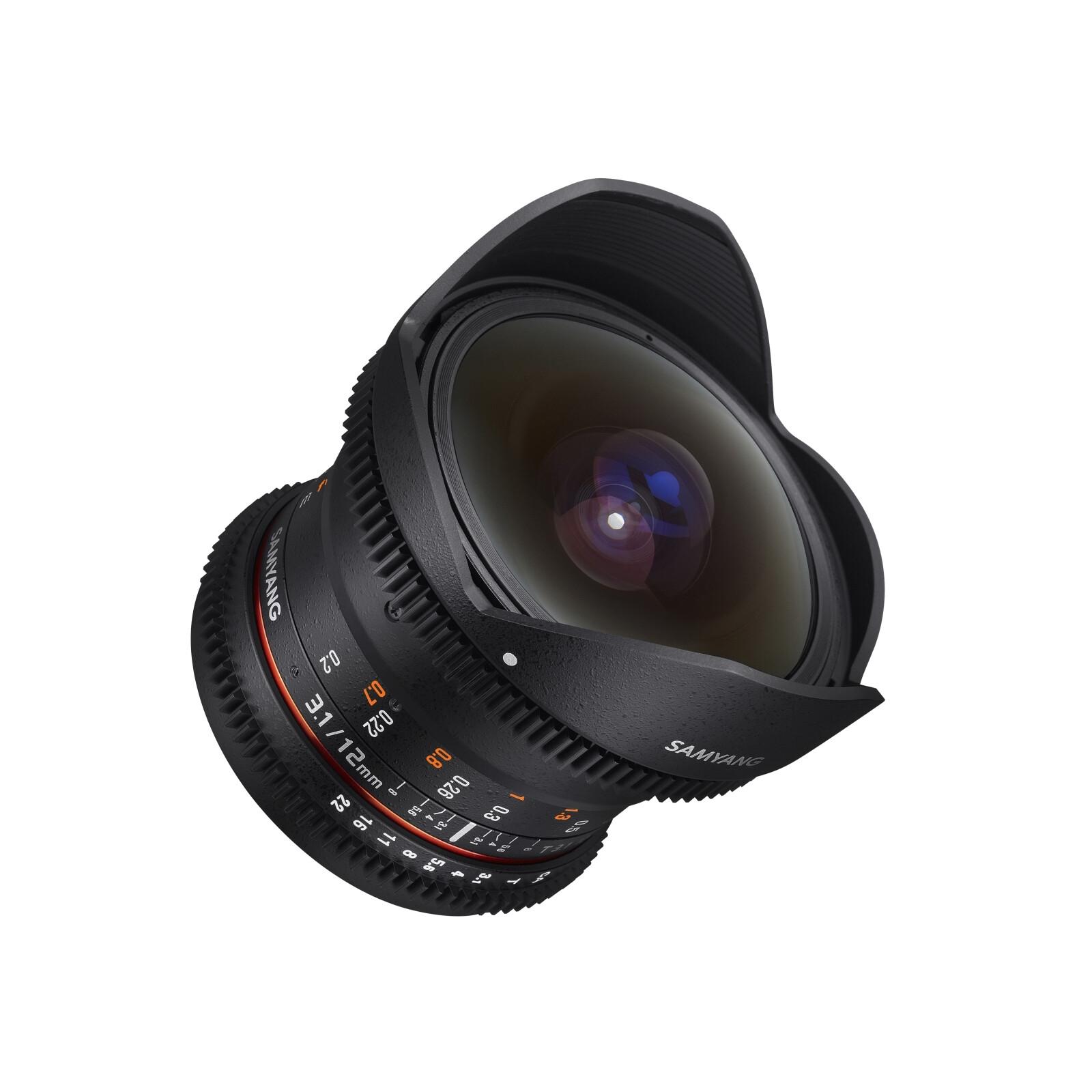 Samyang MF 12/3,1 Fisheye Video DSLR Sony A
