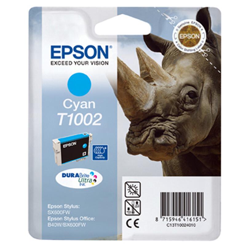 Epson T1002 Tinte Cyan 11,1ml