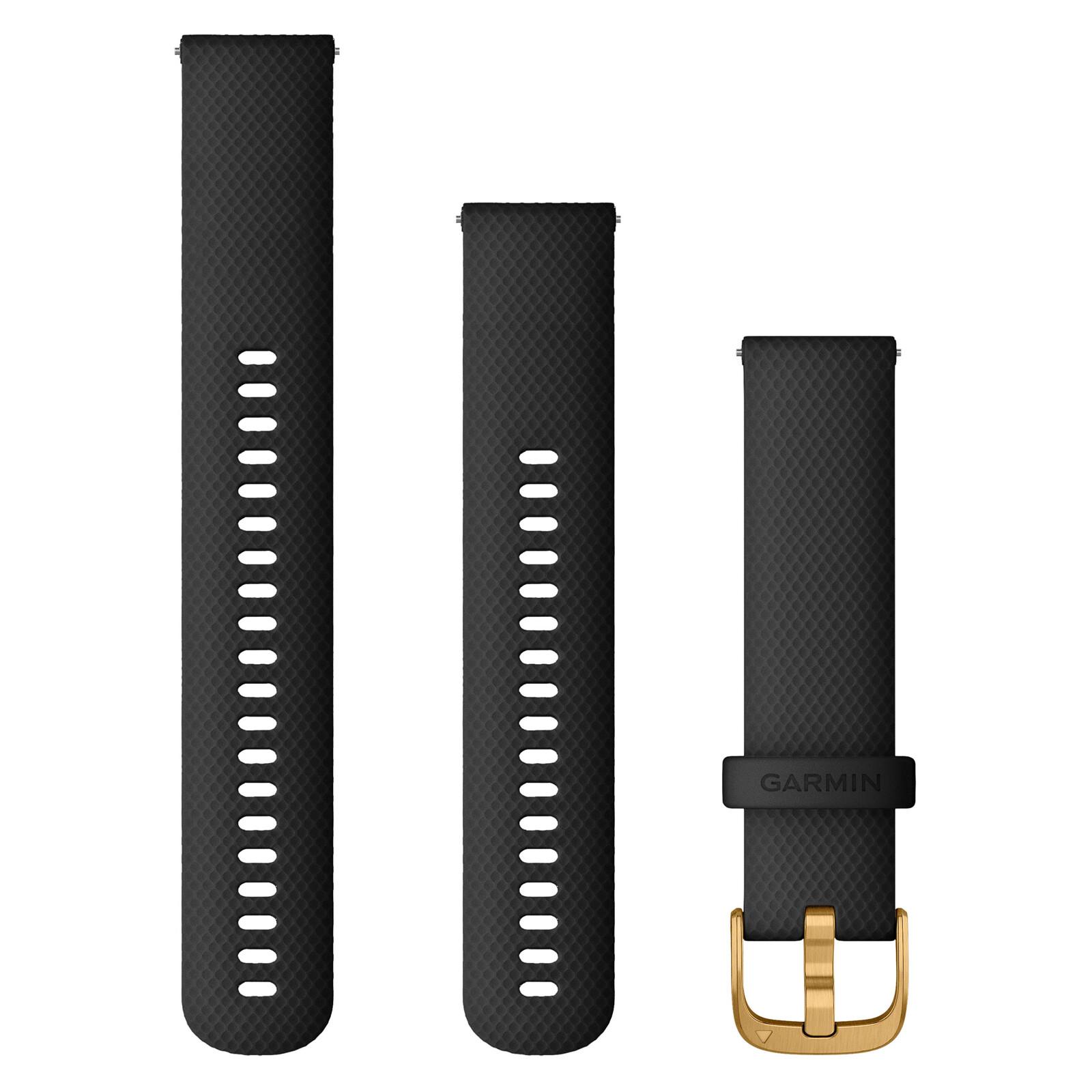 Garmin Uhrenarmband Venu 20mm Silikon schwarz