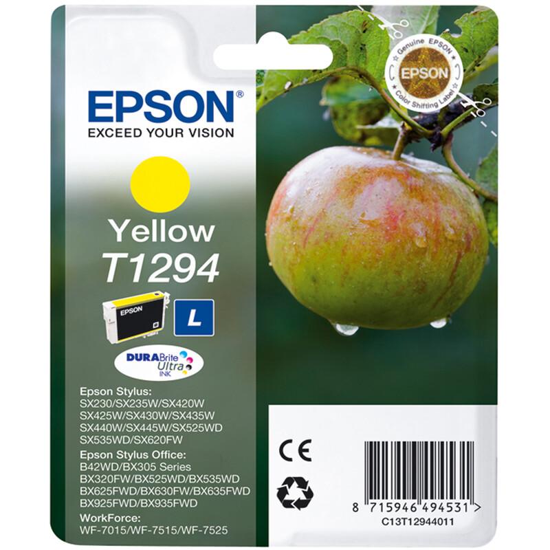 Epson T1294 Tinte Yellow 7ml