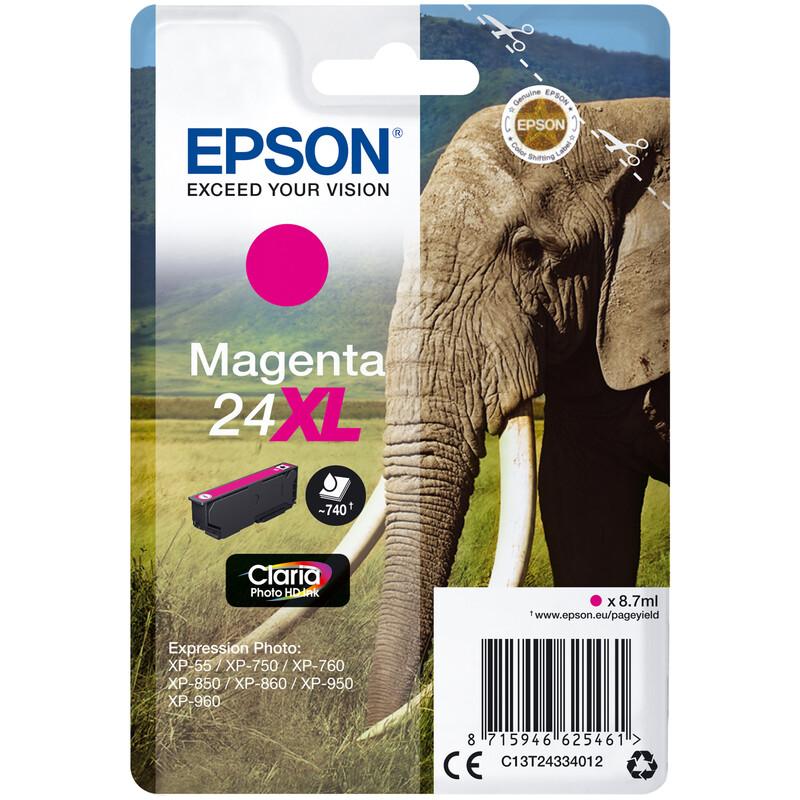 Epson 24XL Tinte Photo Magenta 8,5ml