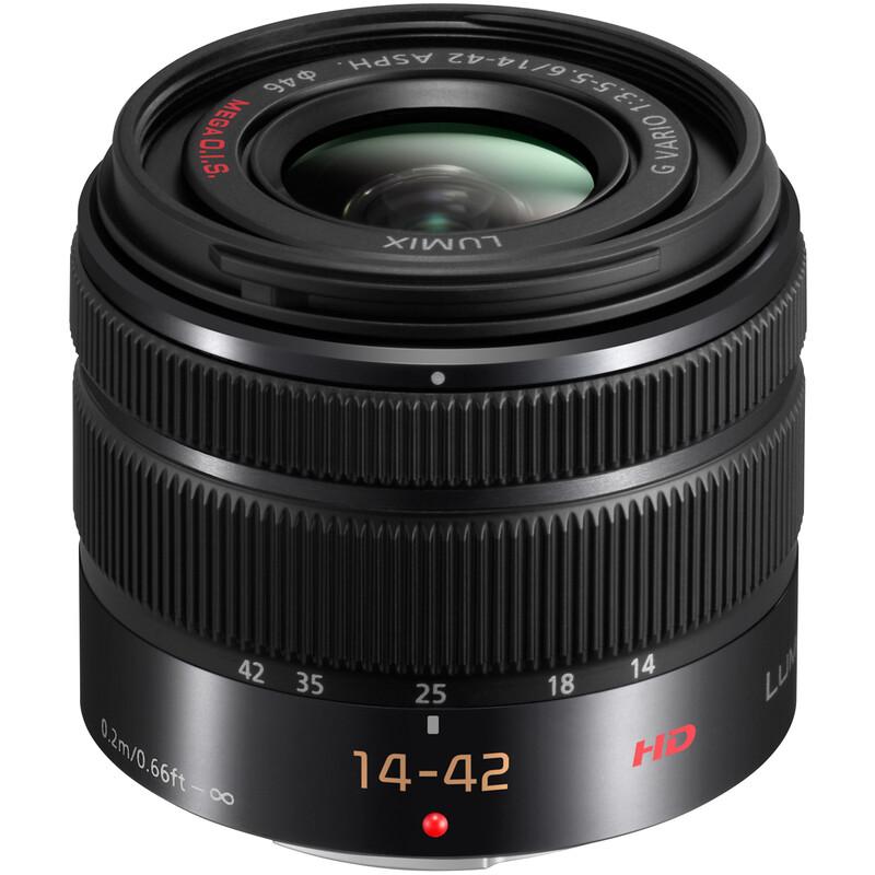 Panasonic 14-42/3,5-5,6 Lumix G + UV Filter