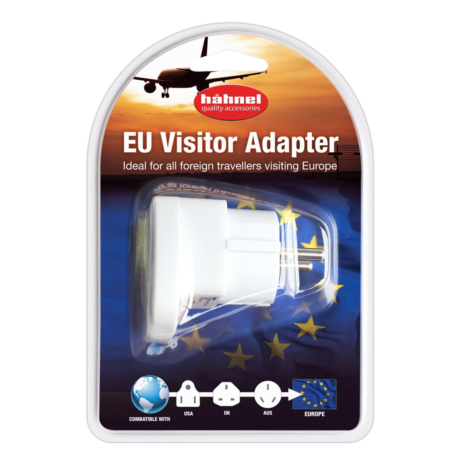 Hähnel EU Visitor Adapter