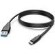 Hama Lade-/Datenkabel USB Type-C-USB-A-Stecker