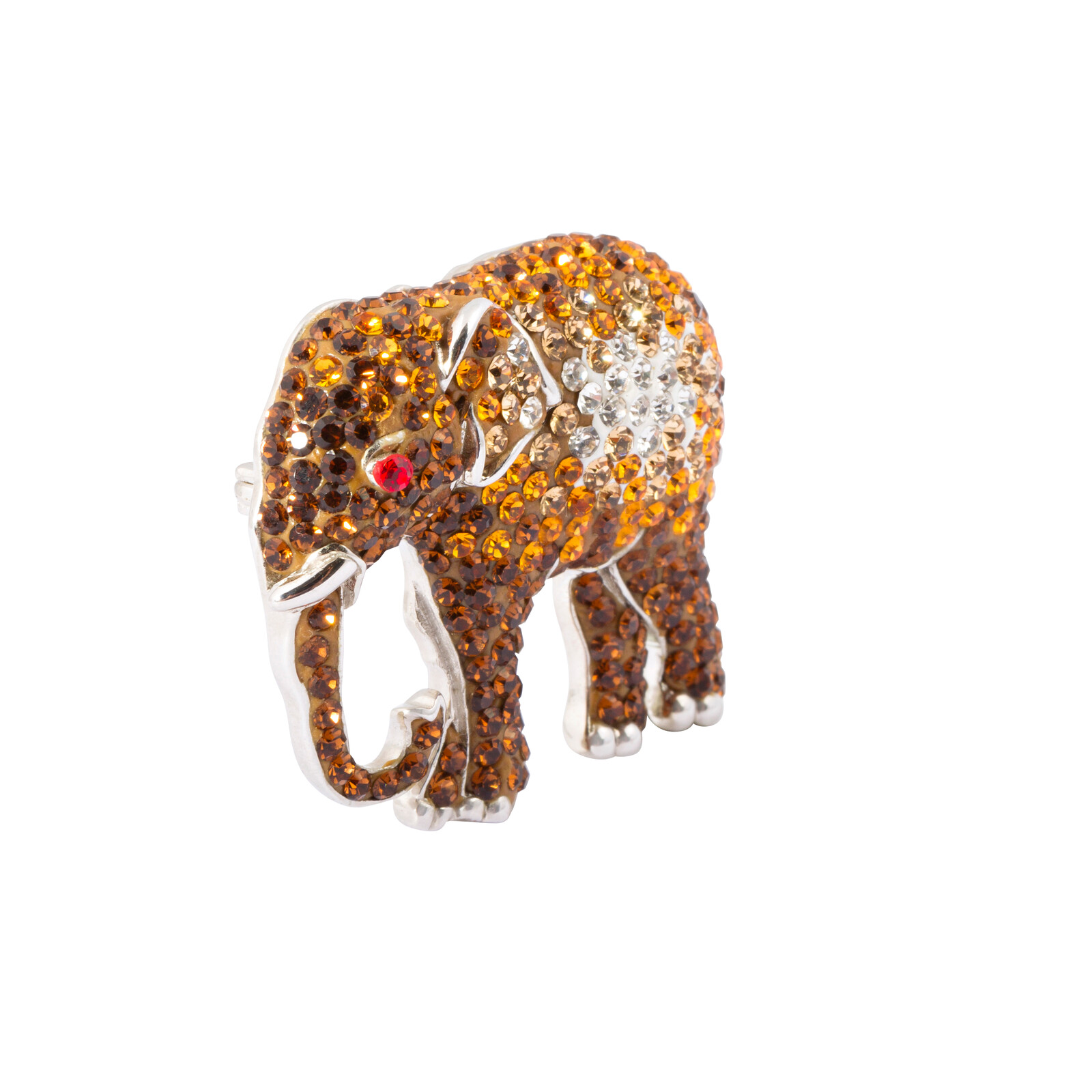 Brosche Elefant Swarovski Elements
