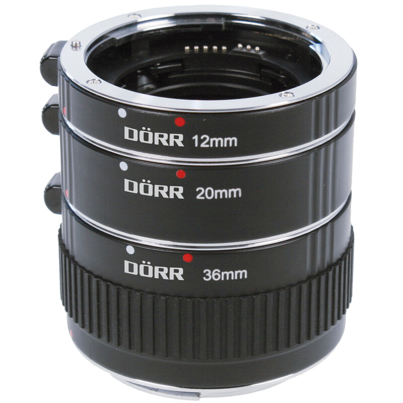Dörr 10/16/21mm Olymp/Panasonic MFT Zwischenringsatz