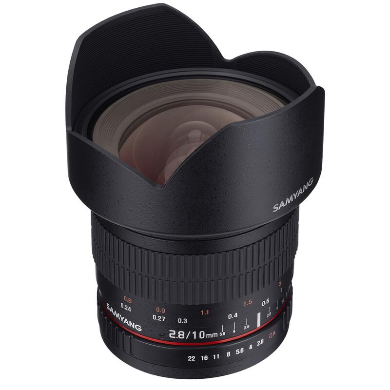 Samyang 10/2,8 APS-C Canon EF